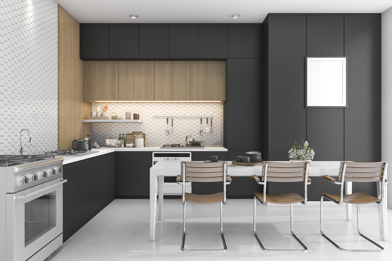 Decorar tu cocina de negro elegancia en estado puro - Cocinas negras ...